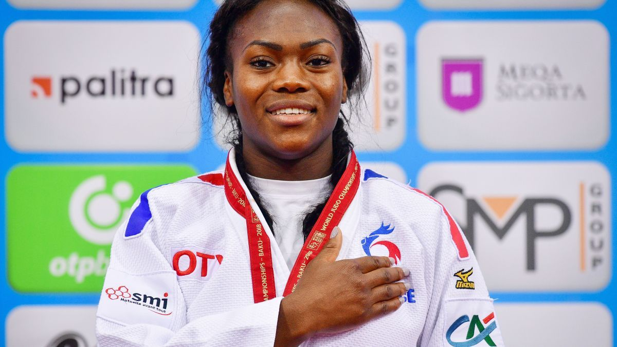 champion AGBEGNENOU Clarisse judo
