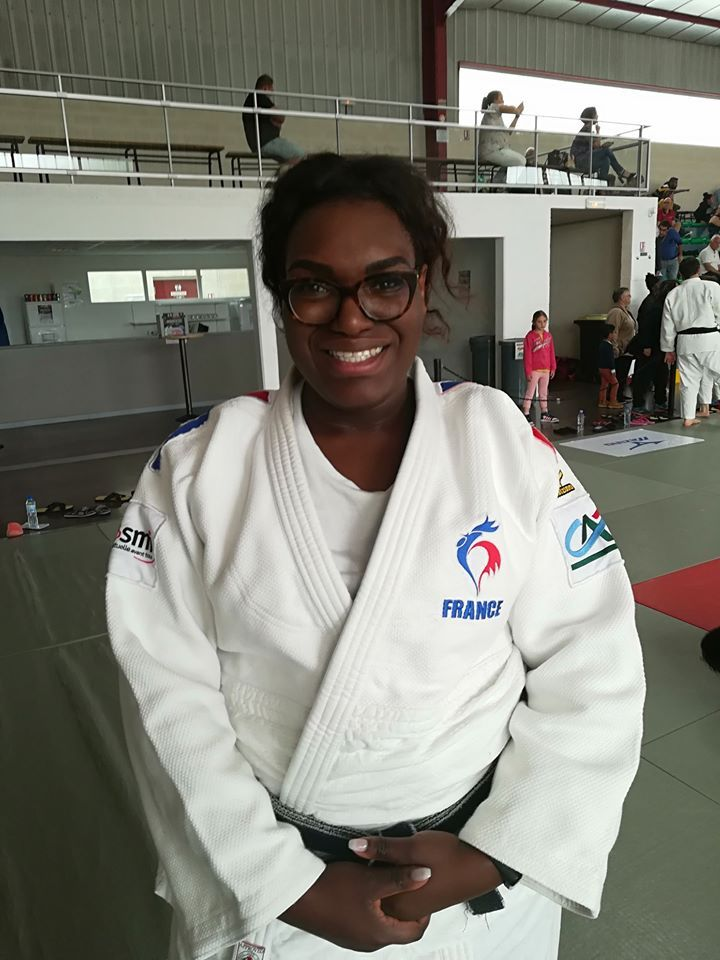 ANDEOL Emilie champion judo