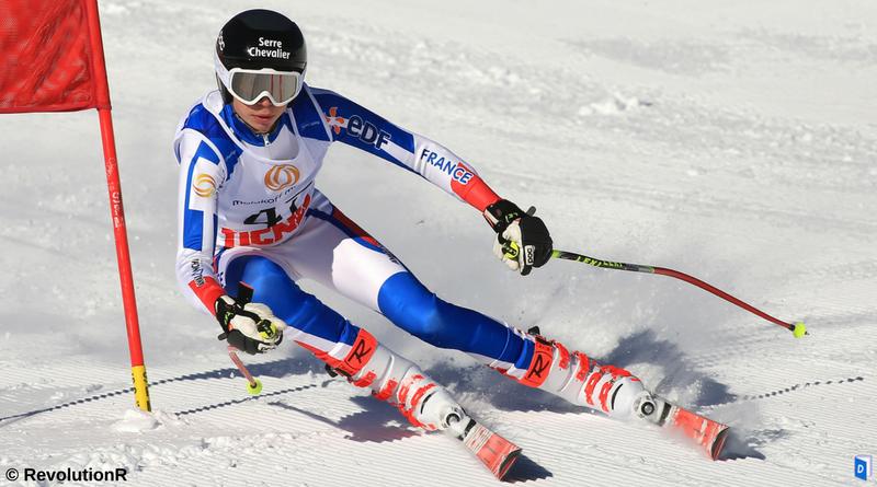 BAUCHET-Arthur champion ski alpin