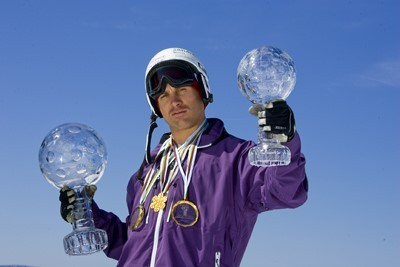 COLAS Guilbaut champion ski acrobatique