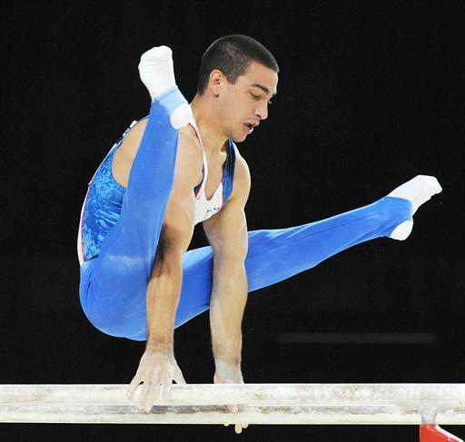 CUCHERAT Yann champion gymnastique