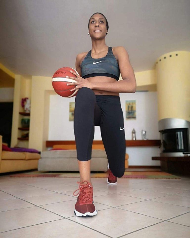 GRUDA Sandrine champion basket-ball