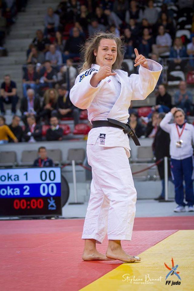 HAREL Barbara champion judo