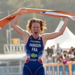 HARRISON Jessica  champion triathlon