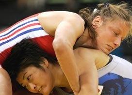 LEGRAND Lise champion lutte