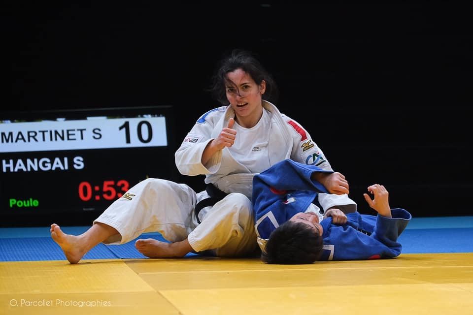 MARTINET-AURIERES Sandrine champion judo