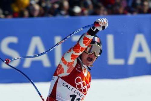 MONTILLET Carole champion ski alpin