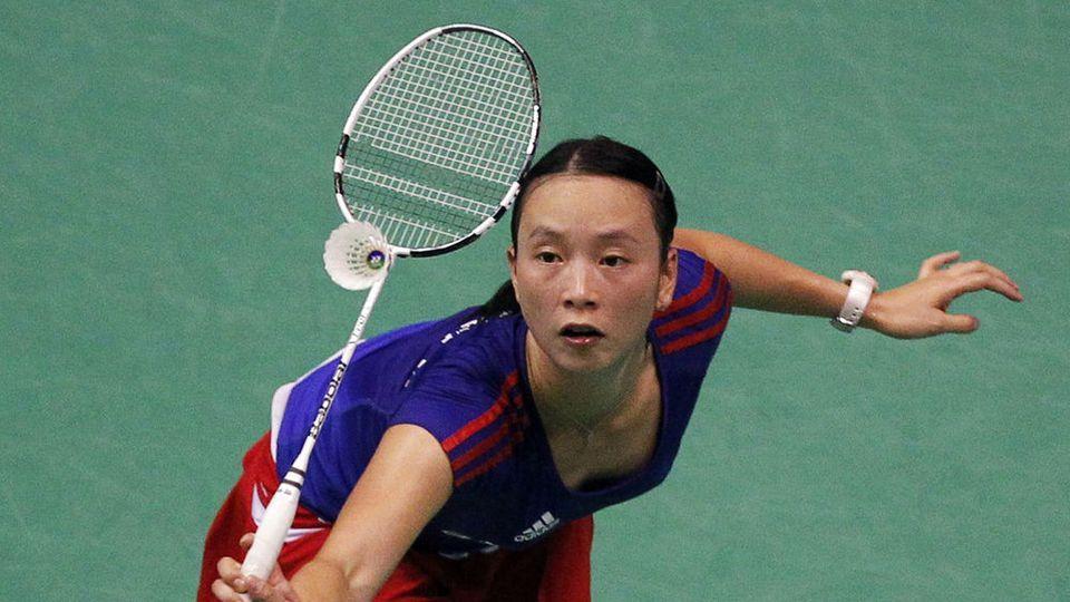 PI Hongyan champion badminton