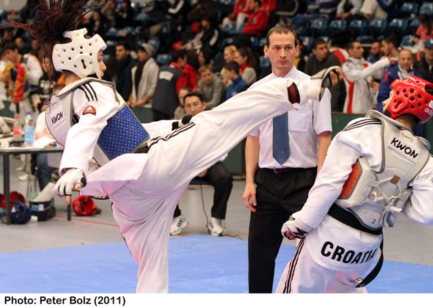 PINTENO Alison champion taekwondo