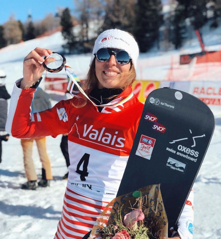 TRESPEUCH Chloé champion snowboard-cross