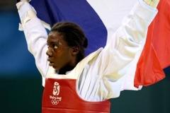 EPANGUE Gwladys champion taekwondo