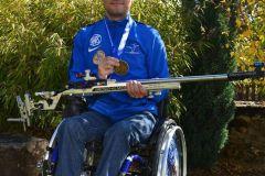 FEVRE Cédric champion handisport tir à la carabine
