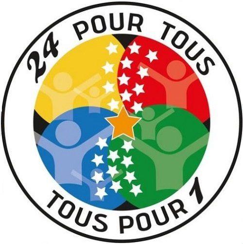 Logo de l'association 24 pour Tous, Tous pour 1