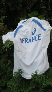 GIRARD Patricia-TShirt Equipe de France dédicacé (1)