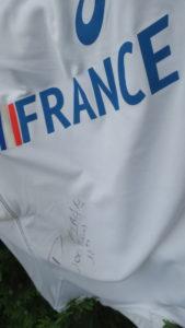 GIRARD Patricia-TShirt Equipe de France dédicacé (4)