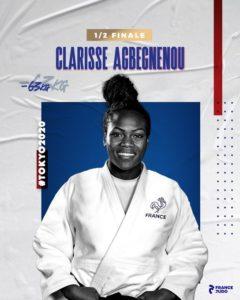 Judo AGBEGNENOU Clarisse