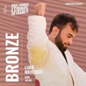 Tokyo 2020-Judo BRONZE - Luka MKHEIDZE
