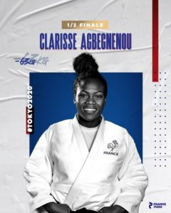 Tokyo 2020-Judo OR - Clarisse AGBEGNENOU