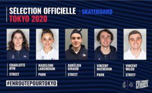 Tokyo 2020-SkateBoard
