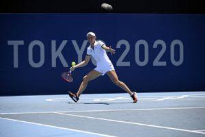 Tokyo 2020-Tennis Fiona FERRO