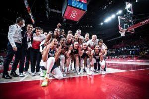 Tokyo 2020-Basket BRONZE - Équipe de France Féminine
