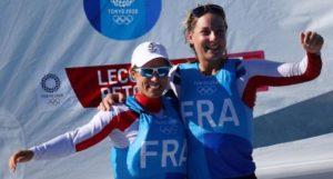 Tokyo 2020-Voile, 470 Bronze - Camille LECOINTRE et Aloïse RETORNAZ