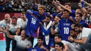 Tokyo 2020-Volley OR - Équipe de France Masculine