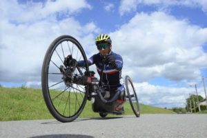 Tokyo 2020-JP-Cyclisme Handbike -ARGENT- Loïc VERGNAUD