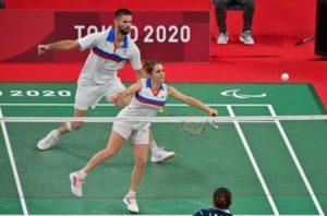 Tokyo 2020-JP-Para Badminton Double-ARGENT- Faustine NOEL et Lucas MAZUR