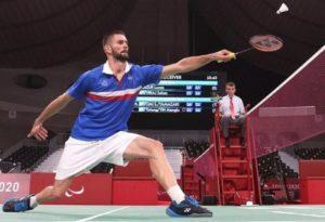 Tokyo 2020-JP-Para Badminton-OR- Lucas MAZUR