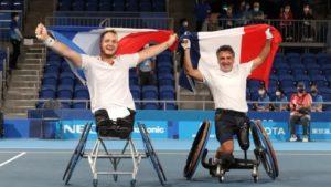 Tokyo 2020-JP-Tennis Fauteuil -OR- Stéphane HOUDET et Nicolas PEIFER