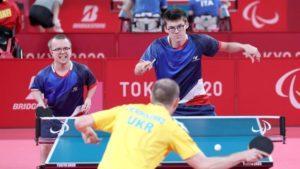 Tokyo 2020 JP-Tennis de Table en DOUBLE -BRONZE- Thomas BOUVAIS-Clément BERTHIER